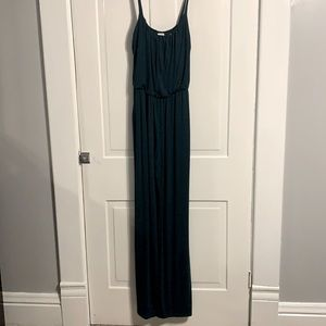 NWT Kaileigh Dark Green Jump Suit Size Small